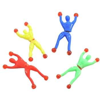عروسک طرح مرد عنکبوتی ملق زن مدل Sticky بسته 4 عددی