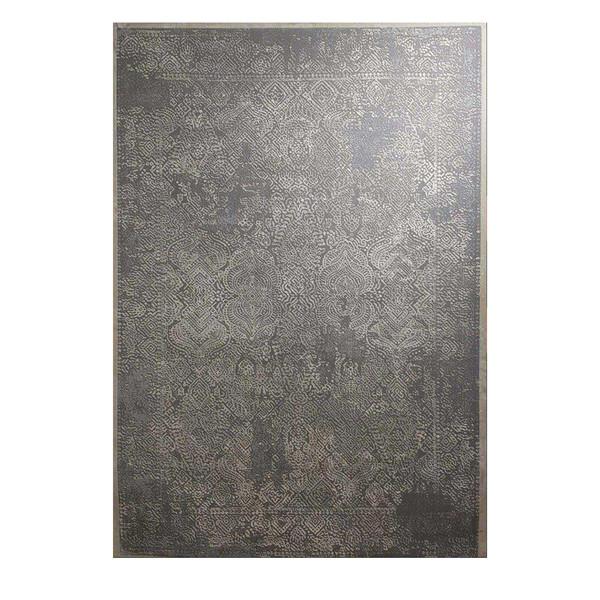 فرش ماشینی طرح پلاتینیوم کد 5027 زمینه طوسی