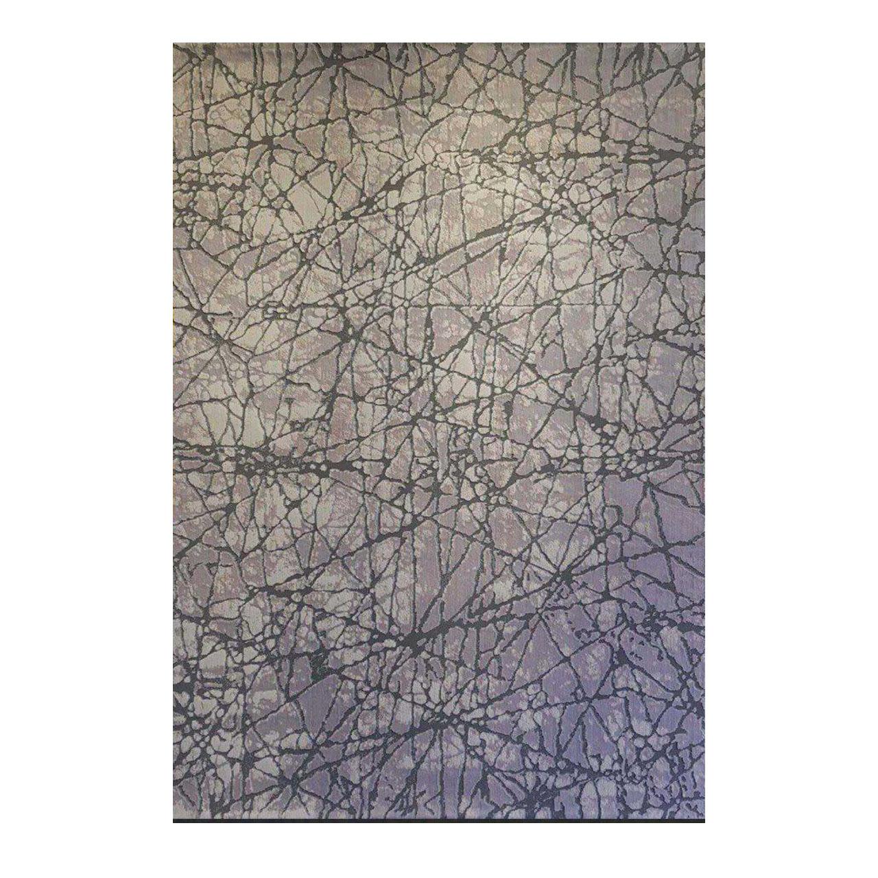 فرش ماشینی طرح پلاتینیوم کد 5025 زمینه طوسی