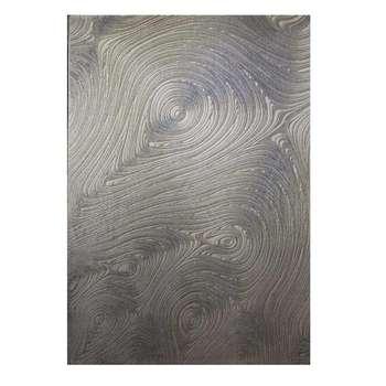 فرش ماشینی طرح پلاتینیوم کد 5015  زمینه طوسی