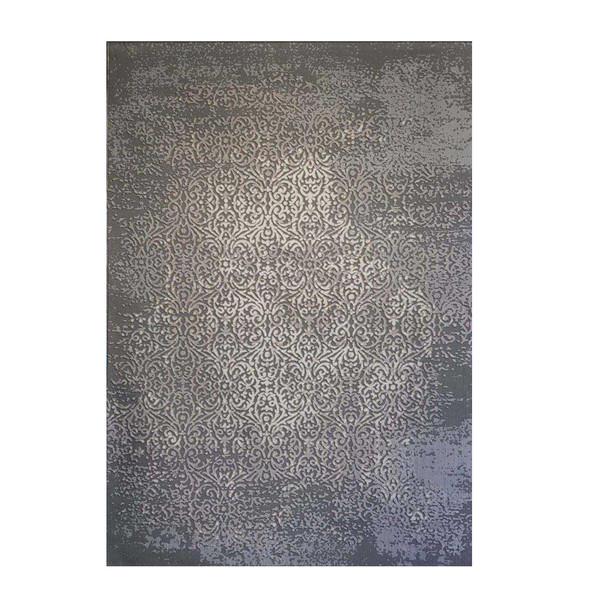فرش ماشینی طرح پلاتینیوم کد 5001 زمینه طوسی