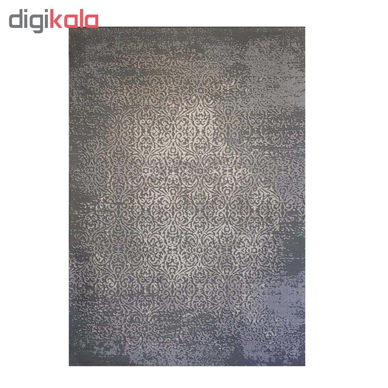 فرش ماشینی طرح پلاتینیوم کد 5001 زمینه طوسی  main 1 1