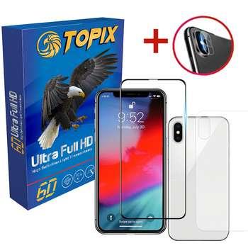 پکیج محافظتی تاپیکس مدل Super Hard مناسب برای گوشی iphone Xs Max