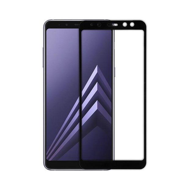 محافظ صفحه نمایش مدل full cover 3D BEST GLASS مناسب برای گوشی سامسونگgalaxy A8 plus 2018