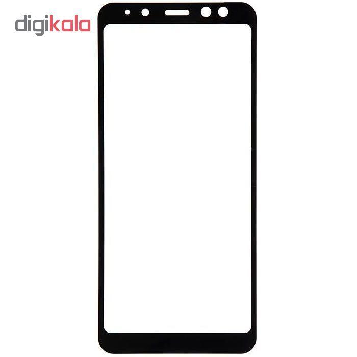 محافظ صفحه نمایش مدل full cover 3D BEST GLASS مناسب برای گوشی سامسونگgalaxy A8 plus 2018   main 1 1