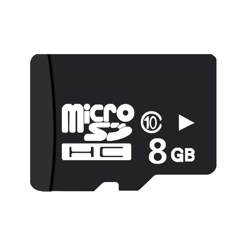 کارت حافظه microSDHC  مدل DR8001 کلاس 10استاندارد HC ظرفیت 8 گیگابایت وکیوم آبی به همراه آداپتور SD