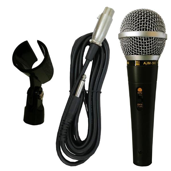 خرید                     میکروفن باسیم پی وی سیستم مدل AJM300