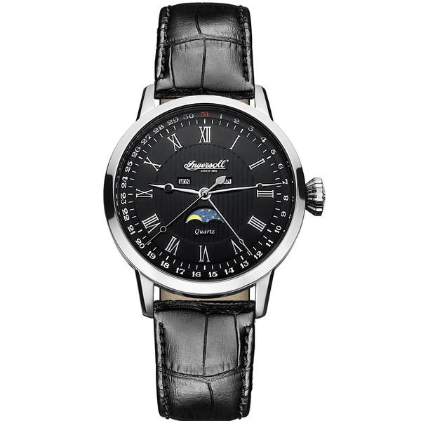 ساعت مچی عقربه ای مردانه اینگرسل مدل INQ027BKSL