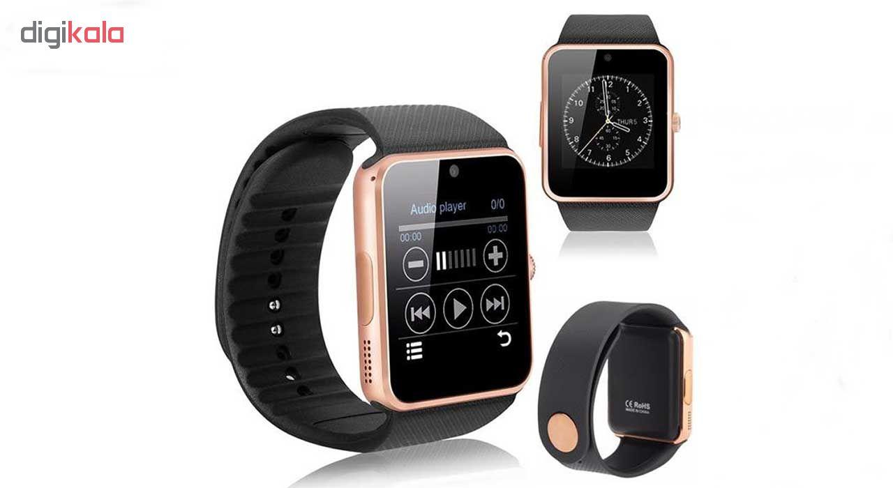 ساعت هوشمند مدل  GT08  همراه محافظ صفحه نمایش شیدتگ