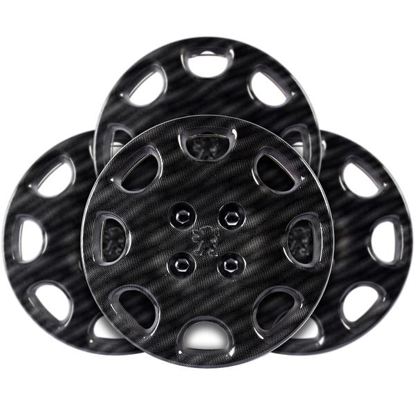 قالپاق چرخ استیلا مدل Croco Silver سایز 14 اینچ مناسب برای پژو 206