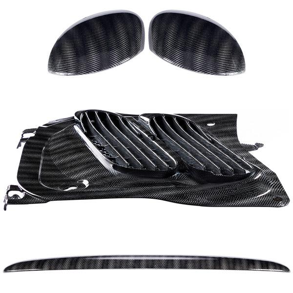 مجموعه تریم خارجی استیلا مدل Croco Silver مناسب برای پژو 206