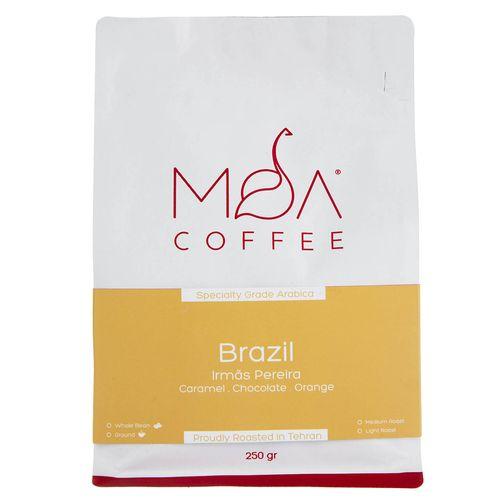 دانه قهوه Brazil Irmas Pereiea موآ مقدار 250 گرم