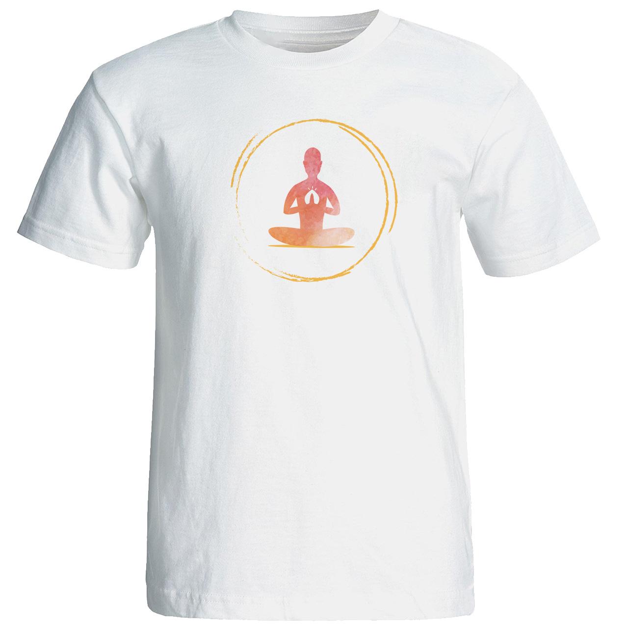 تی شرت  زنانه طرح یوگا کد 12883