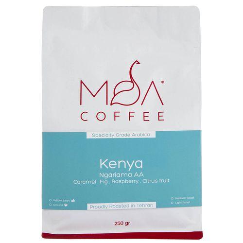 دانه قهوه Kenya Ngariama موآ مقدار 250 گرم