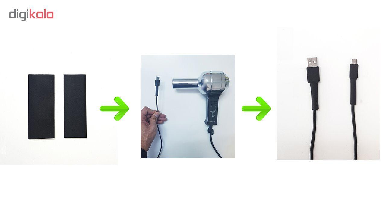 محافظ کابل شارژ اندروید مدل Thermic بسته دو عددی main 1 3