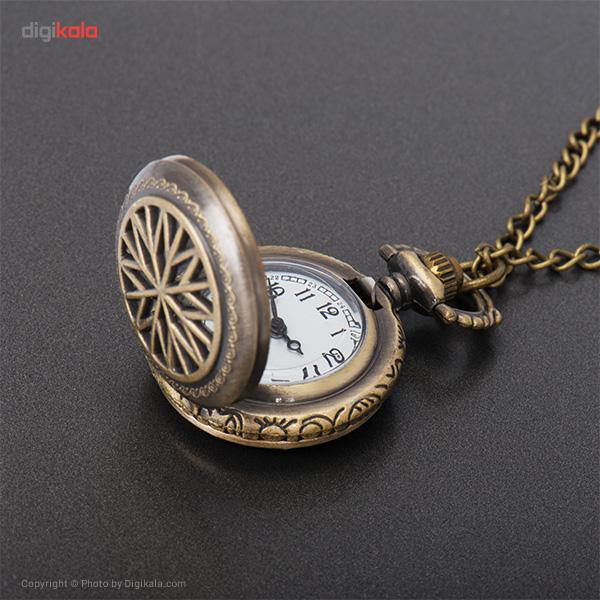 ساعت گردنبندی میو  مدل N022BK -  - 4