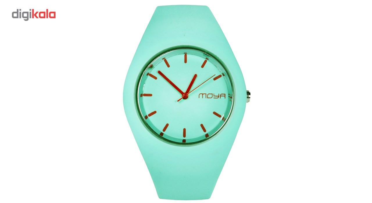 ساعت مچی عقربه ای زنانه مدل Moya-08 دخترانه