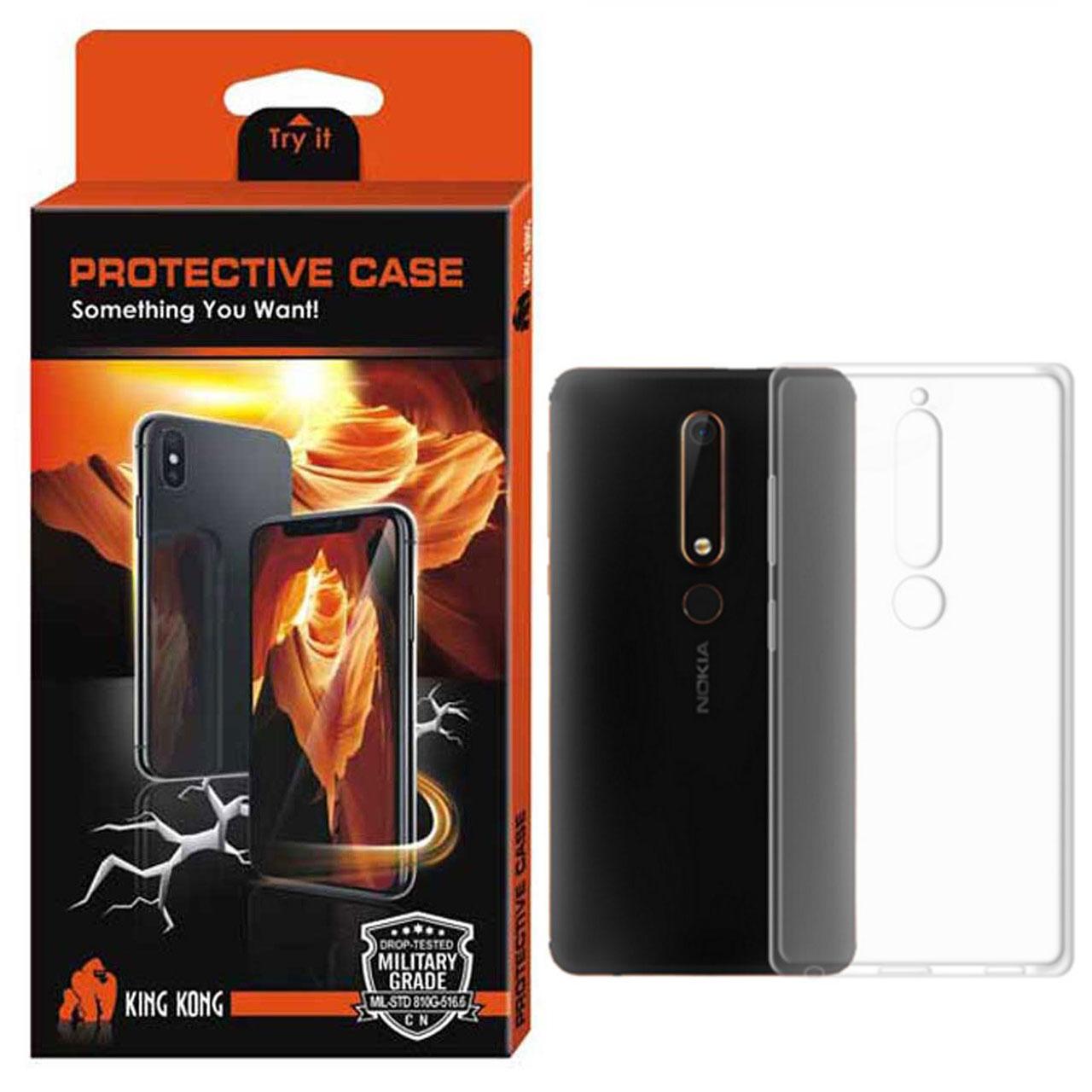 کاور کینگ کونگ مدل TPU Protective مناسب برای گوشی Nokia 6.1