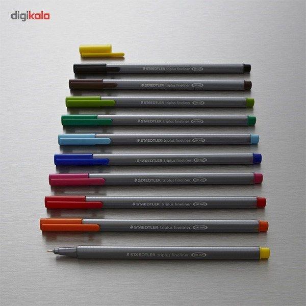 روان نویس 15 رنگ استدلر مدل Triplus Brilliant Colours main 1 9