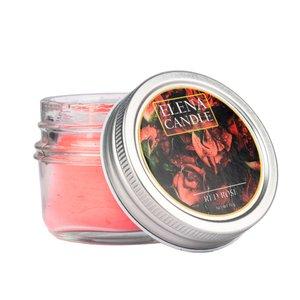 شمع لیوانی النا کندل مدل رز قرمز کد 70