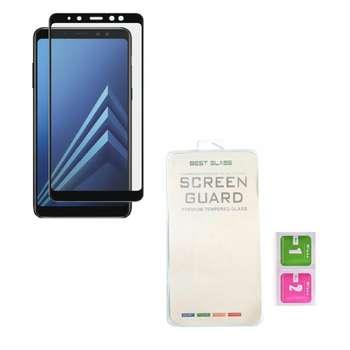 محافظ صفحه نمایش مدل full cover 3D BEST GLASS مناسب برای گوشی سامسونگ A8 2018
