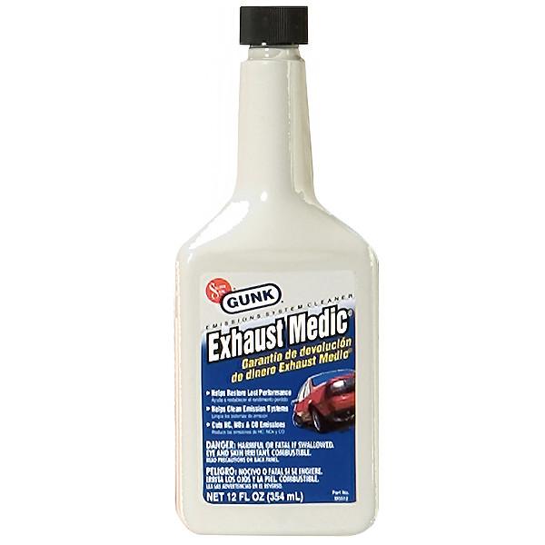 تمیزکننده سیستم سوخت خودرو گانک مدل Exhaust Medic حجم 354 میلی لیتر