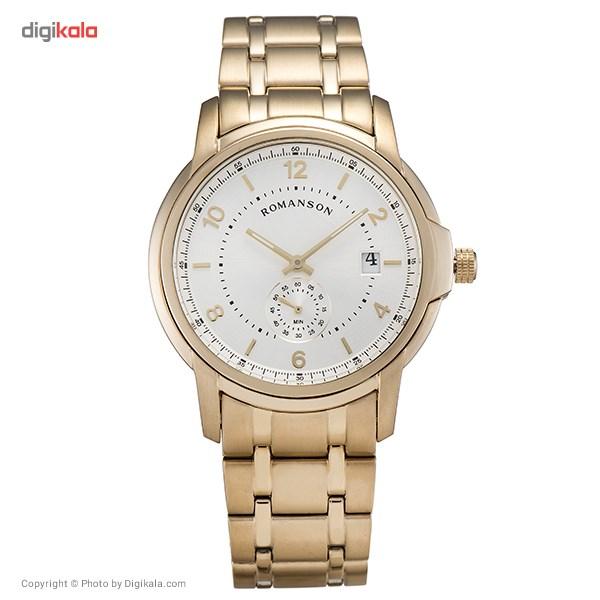 خرید ساعت مچی عقربه ای مردانه رومانسون مدل TM6A21JMGGA1C2