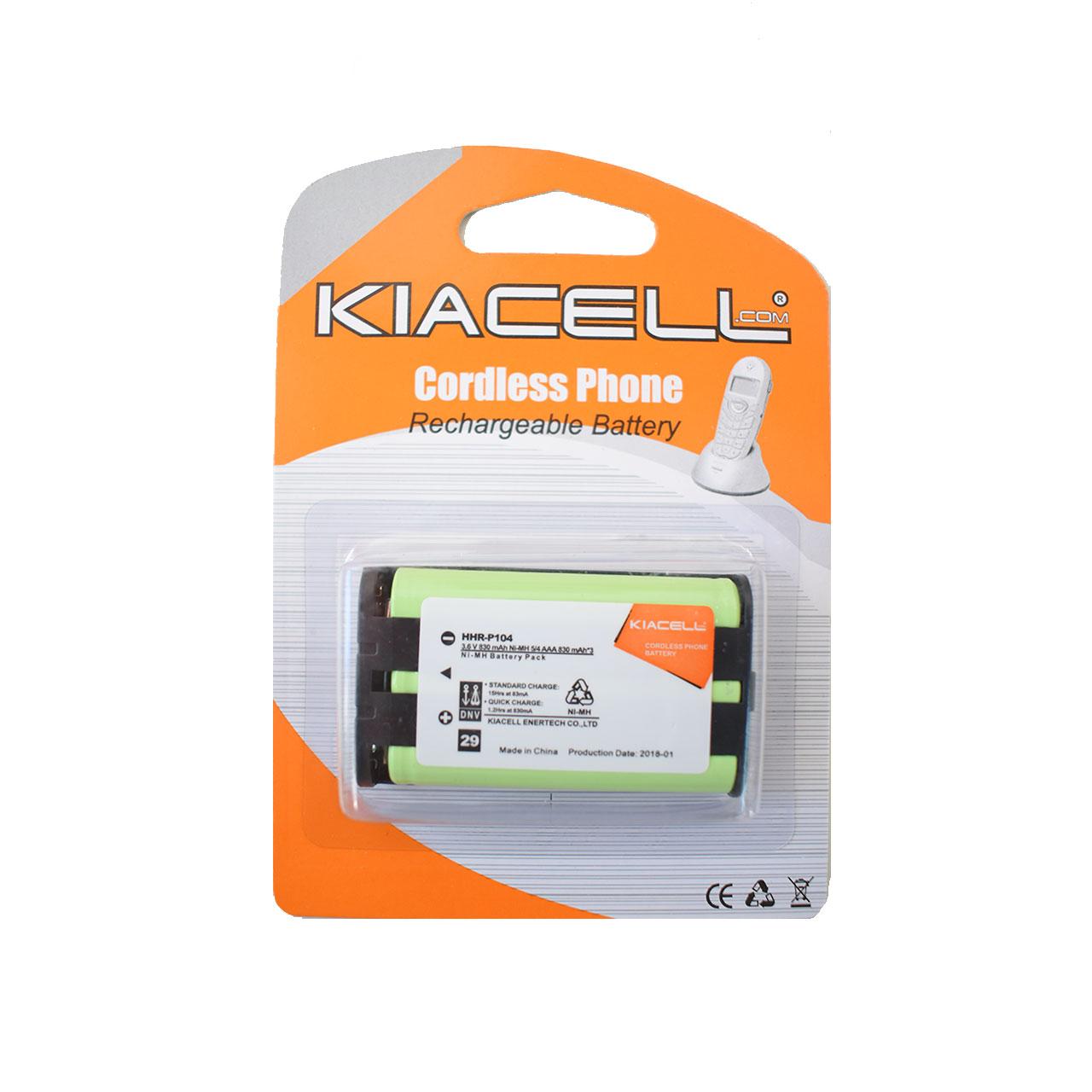 باتری تلفن بی سیم  کیاسل مدل HHR-P104