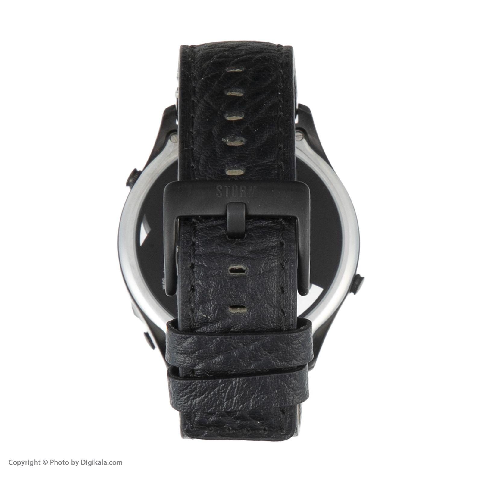 ساعت مچی عقربه ای مردانه استورم مدل ST 47144-SL -  - 6