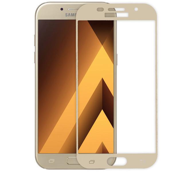 محافظ صفحه نمایش شیشه ای ریمکس مدلFull Cover مناسب برای گوشی موبایل  سامسونگ Galaxy A5 2017