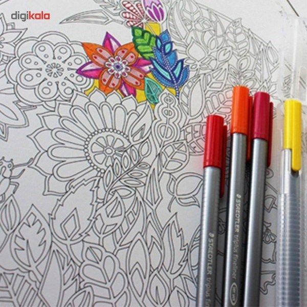روان نویس 15 رنگ استدلر مدل Triplus Brilliant Colours main 1 10