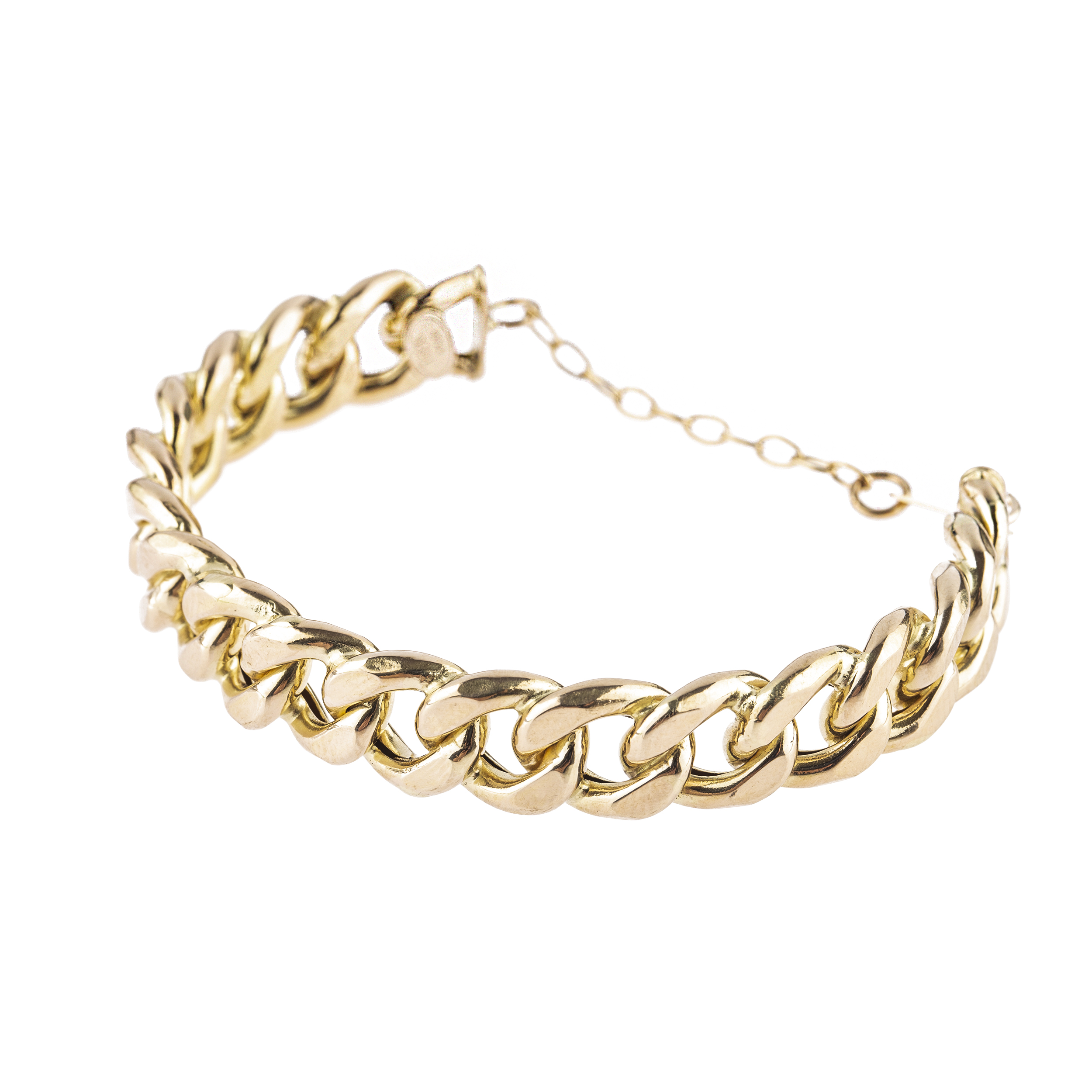 قیمت دستبند طلا 18 عیار کد B110