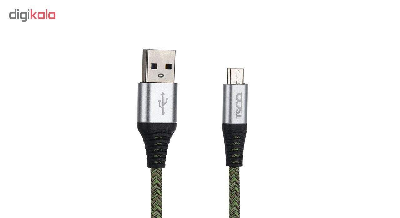 کابل تبدیل USB به microUSB تسکو مدل TC-A19 طول 2 متر main 1 1