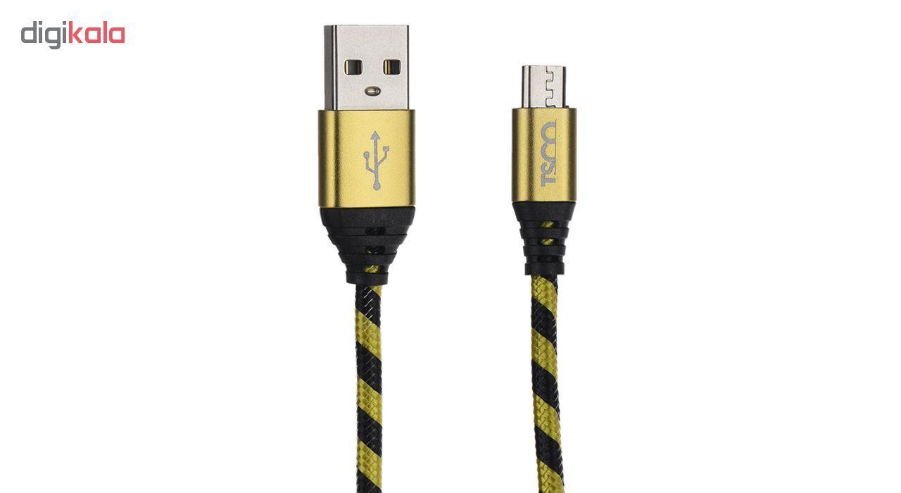 کابل تبدیل USB به microUSB تسکو مدل TC 99 طول 1.5 متر main 1 1