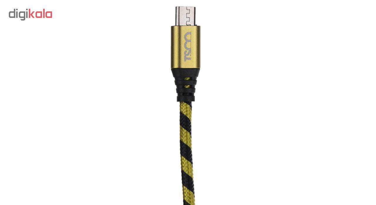 کابل تبدیل USB به microUSB تسکو مدل TC 99 طول 1.5 متر main 1 2