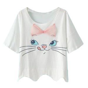 تی شرت دخترانه مدل گربه