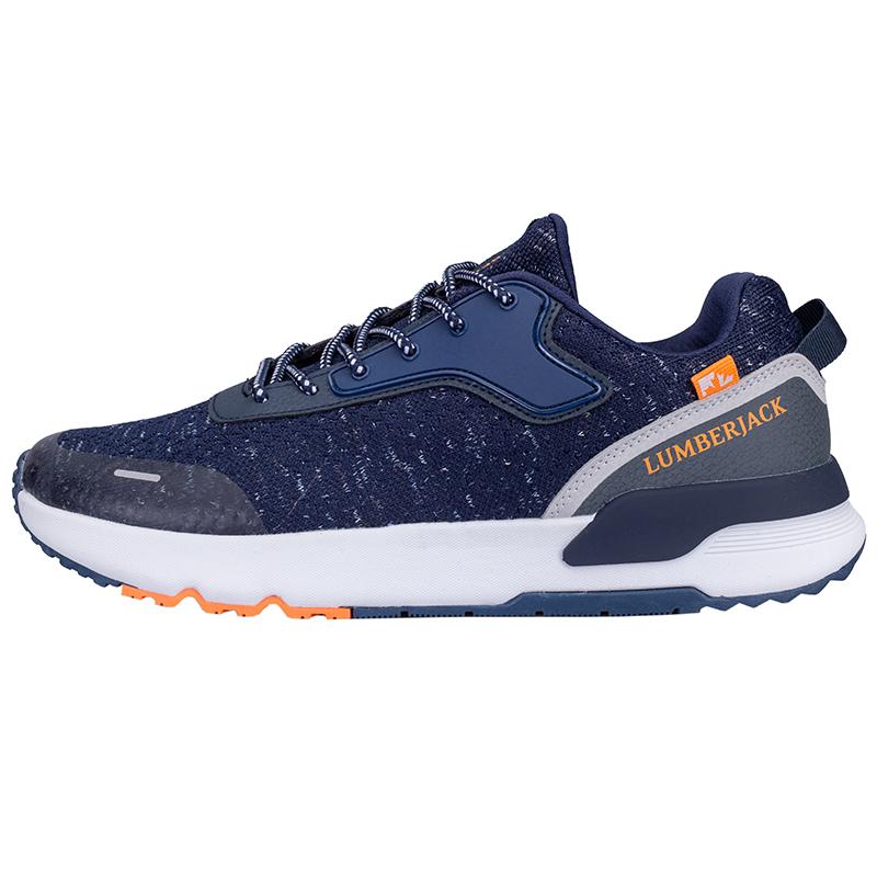 کفش مخصوص دویدن مردانه لامبرجک مدل Perast رنگ سرمه ای