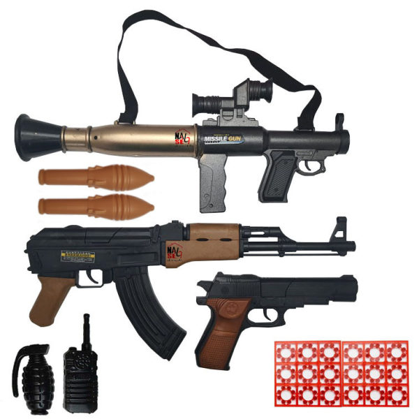 تفنگ بازی مدل naabsell-PA17 مجموعه 9 عددی