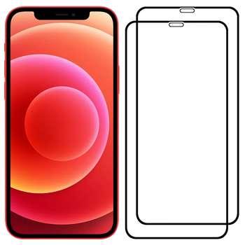 محافظ صفحه نمایش مدل FCG مناسب برای گوشی موبایل اپل iPhone 12 Pro Max بسته دو عددی