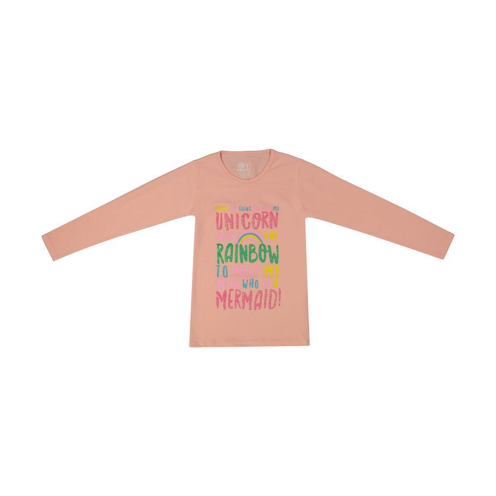 تی شرت دخترانه سون پون مدل 1391353-84