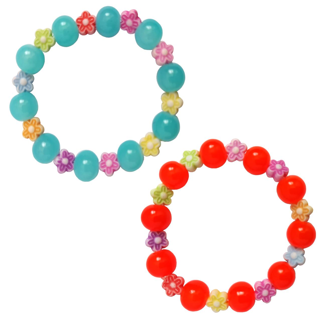 دستبند دخترانه کد DB18 مجموعه 2 عددی