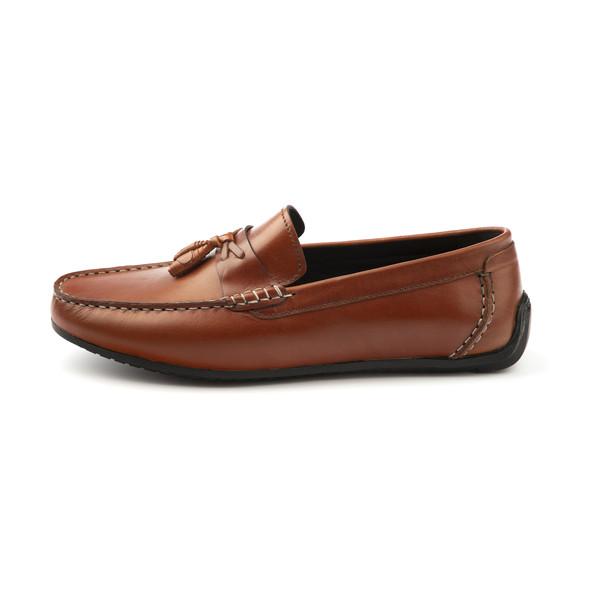 کفش روزمره مردانه چرم آرا مدل sh051 کد as