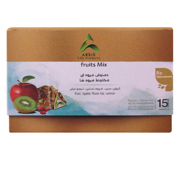 دمنوش میوه ای آرسیس بسته 15 عددی