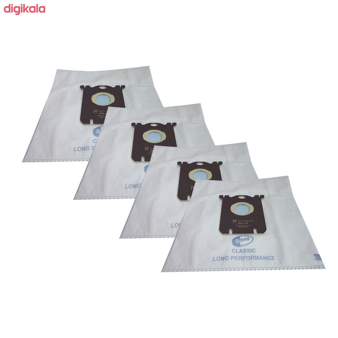 کیسه جارو برقی کد01 بسته 4 عددی مناسب برای جاروبرقی فیلیپس      main 1 3