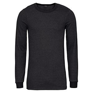 تی شرت آستین بلند مردانه لیورجی مدل Thermal12 رنگ مشکی