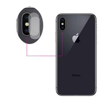 محافظ لنز دوربین مدل LTP مناسب برای گوشی موبایل اپل iPhone XS Max بسته دو عددی