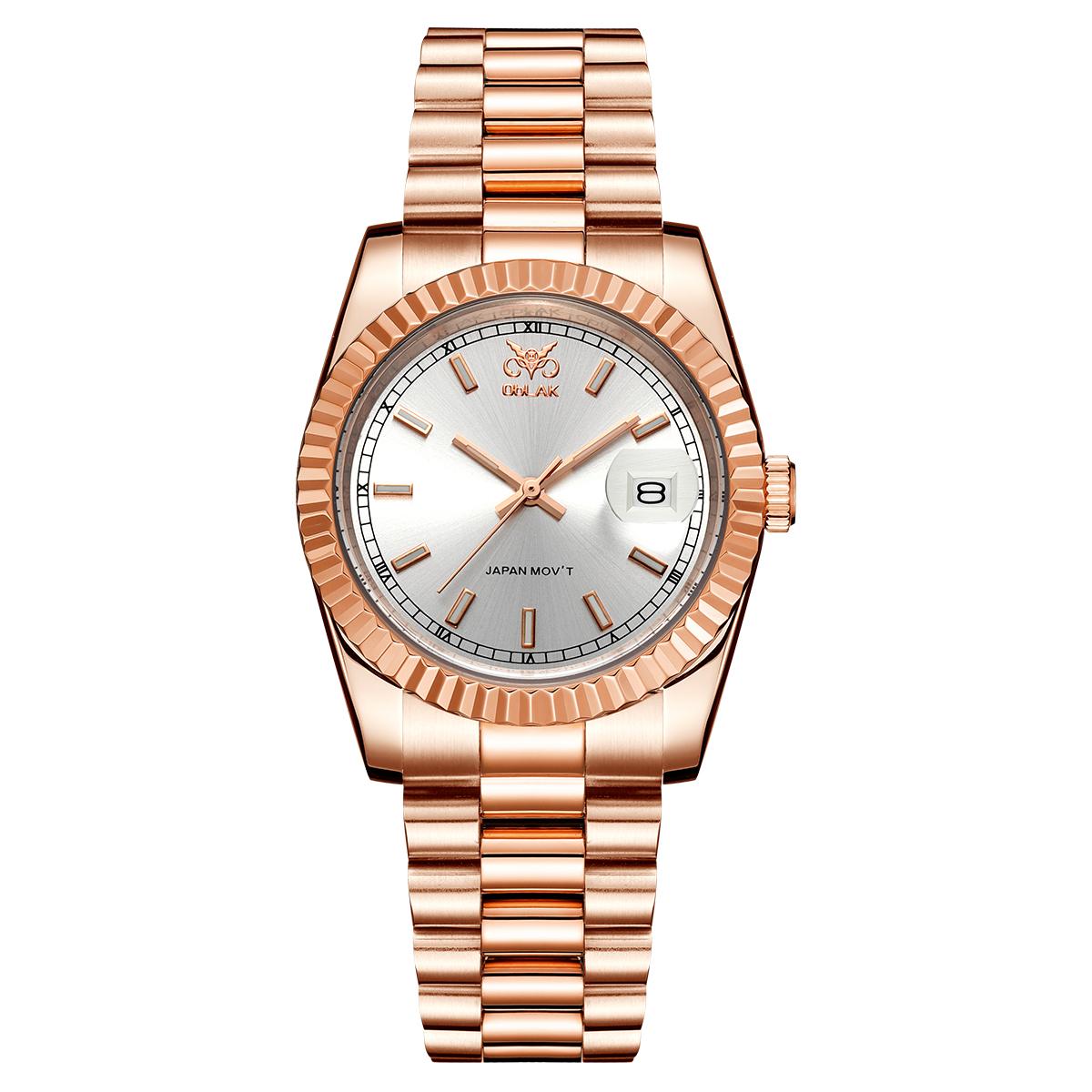 قیمت                      ساعت مچی عقربه ای مردانه اوبلاک مدل 72692