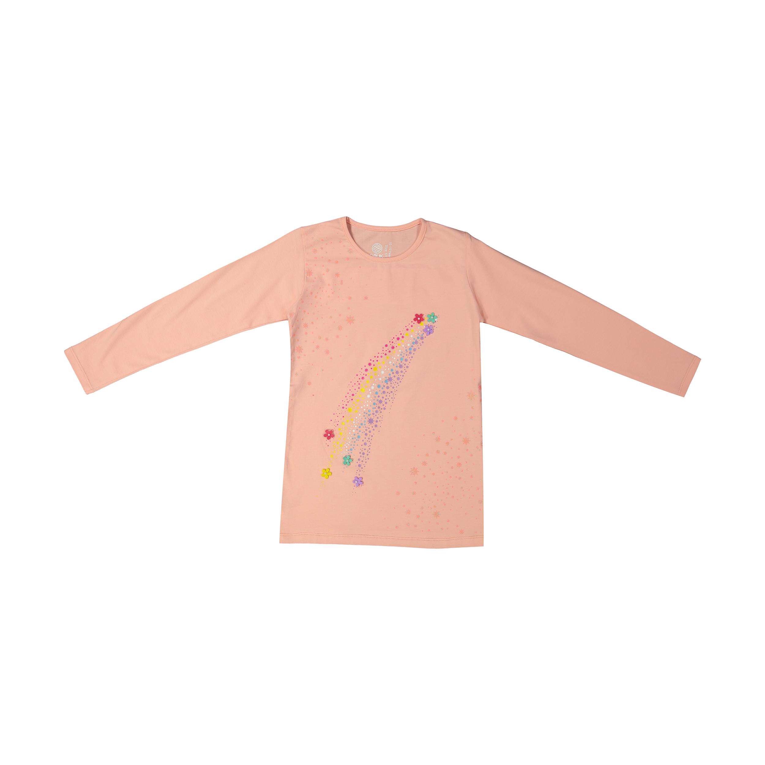 تی شرت دخترانه سون پون مدل 1391354-84 -  - 2