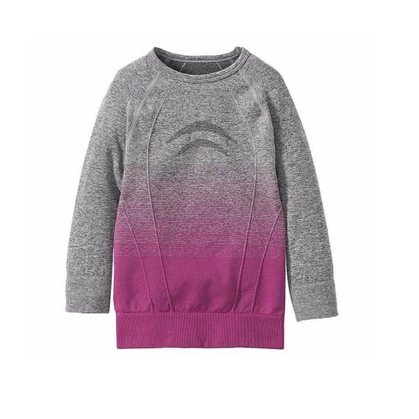 تی شرت آستین بلند ورزشی دخترانه لوپیلو مدل fa036