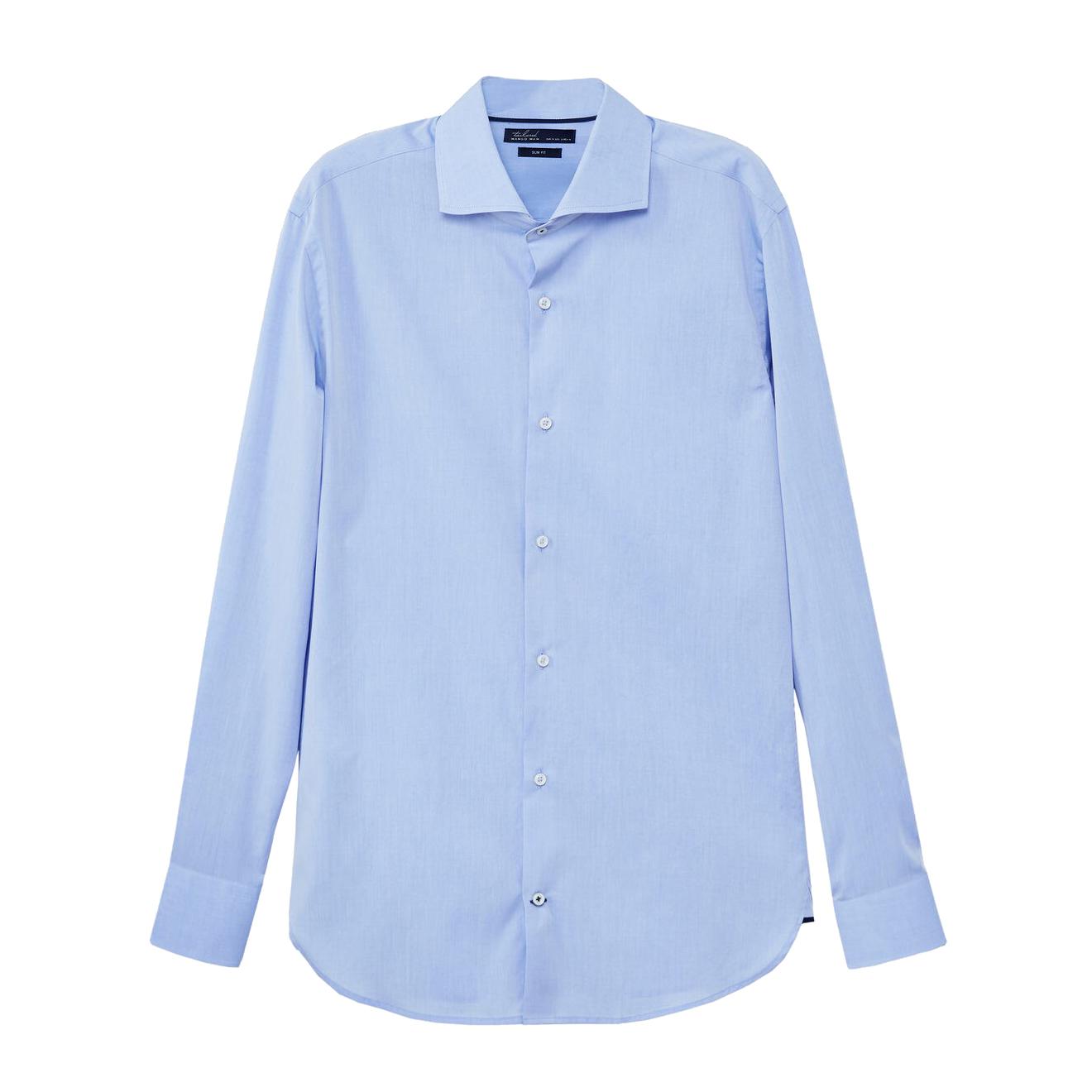 پیراهن آستین بلند مردانه مانگو مدل SBL637